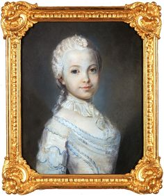 Pastel portrait of Izabela Lubomirska by Louis Marteau, 1746-1748 (PD-art/old), Muzeum Pałacu Króla Jana III w Wilanowie