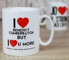 personalised 'love you more than' mug by 3 blonde bears   notonthehighstreet.com