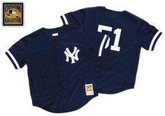 Bernie Williams 1998 Authentic Mesh BP Jersey New York Yankees - Mitchell & Ness
