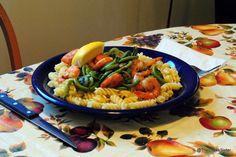 Shrimp And Fiddleheadpasta