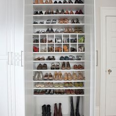 Shoes!!!  Storage & Closets Design Ideas, Pictures, Remodel and Decor