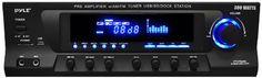 PyleHome pt270aiu 300�W Stereo-Empf�nger mit integrierter iPod Dockingstation