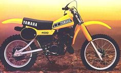 1979 Yamaha YZ400. Another toy I rode, this one would of been an Enduro bike.