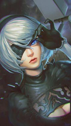 re 396275 cleavage nier_automata yu_li. Fantasy Characters, Female Characters, Anime Characters, Fictional Characters, Nier Automata, Anime Art Girl, Manga Art, Dark Fantasy, Fantasy Art