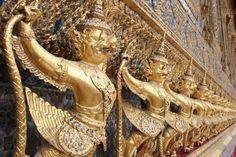 Bangkok, Thailand - Grand Palace Travel Log, Bangkok Thailand, Some Pictures, Palace, Palaces, Castles, Castle