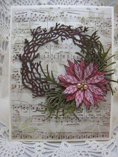 Poinsettia & Wreath