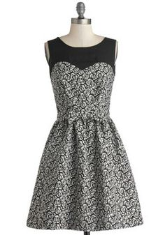 Rosette the Date Dress, #ModCloth