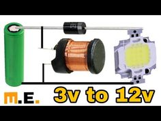 *how to make to boost converter(science project) - electronics - Electronics Projects, Hobby Electronics, Electronics Components, Electronics Gadgets, Electrical Engineering Books, Electrical Projects, Electronic Engineering, Led Projects, Science Projects