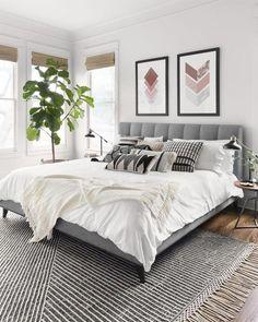 Rustic Master Bedroom, Master Bedroom Design, Modern Bedroom, Bedroom Designs, Bedroom Romantic, Contemporary Bedroom Decor, Master Suite, Bedroom Styles, Transitional Bedroom Decor