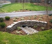 Rain and snow are going to play a huge part in your yard landscaping decisions. For example you will have to plan for your yard landscaping with care. These yard lan