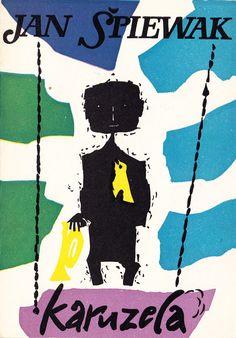 'Karuzela', Warszawa 1957, cover by Jan Młodożeniec.