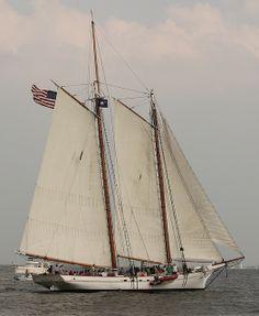 "Charleston Harbor Fest: ""Spirit Of South Carolina"" by skyliner72, via Flickr"