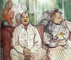 Henri de Toulouse-Lautrec - Brothel Keepers, 1893