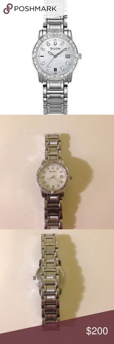 0fd9d2d33f15 Women s Bulova watch Excellent condition and well maintained. Has new  battery and quartz movement.