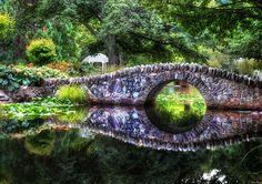The Tolkienesque Bridge. Queenstown, New Zealand.