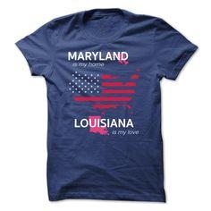 MARYLAND IS MY HOME LOUISIANA IS MY LOVE