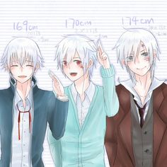 It's funny that the youngest is the tallest <-- and he's really short in general