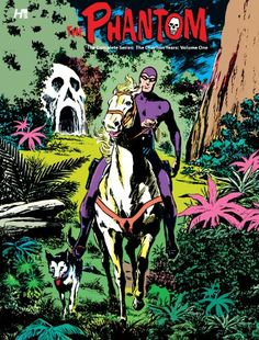 A Phantom fan - old stories but wanted it my collection. The Phantom: The Complete Series: The Charlton Years, Volume 1 by Dick Wood is on Milton's read . Free Comic Books, Comic Book Covers, Comic Book Artists, Comic Book Heroes, Tarzan, Wolverine, Indrajal Comics, Phantom Comics, Charlton Comics