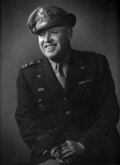 USAAF Captain with Royal Yugoslavian pilot badge