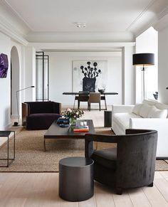 L Shaped Living Room Furniture Unique 50 Wondrous Luxury Living Room Interior Design Living Room Modern, Interior Design Living Room, Living Room Designs, Modern Wall, Modern Lamps, Unique Lamps, Interior Paint, Interior Ideas, Beautiful Living Rooms