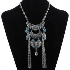 Jezza Tassel Necklace
