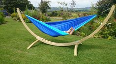 Ticket to the Moon Double Hammock and our Smile Hammock Frame!