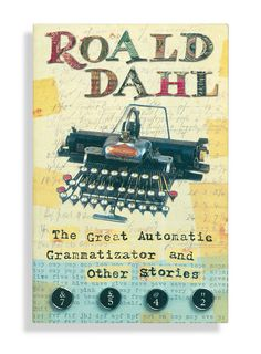 Martin O'Neill - Roald Dahl Cover 2 by Début Art, via Flickr