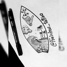 Surf tattoo, #surfboard #surf #tattoo
