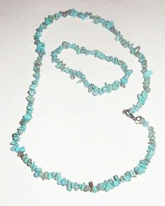 Gemstone necklace Turquoise 17€  by tropicolor madagascar ... www.tropicolormg.it
