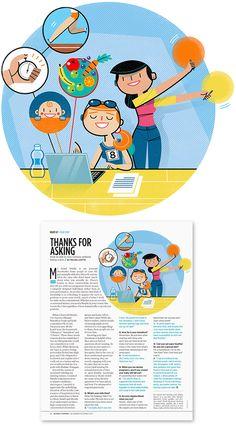 Spot Illustration For Women's Running Magazine, Nov. Running Magazine, Freelance Illustrator, My Portfolio, Running Women, Digital Illustration, Thankful, Kids Rugs, Design, Art