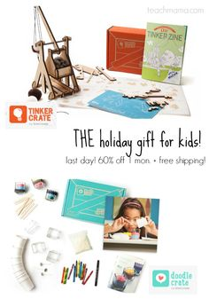 friends.  I am more psyched about this holiday steal than any other so far, and it's your last day to grab it.  These are the ones I've grabbed for my kids. . . check it out and grab the code on the blog! #holidaydeals #family #kidgifts