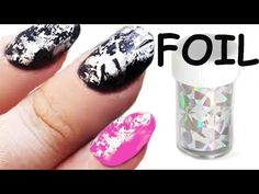 nail art - come applicare i foil per unghie #nailart