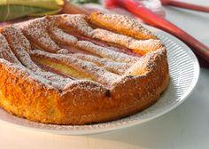 Rabarbertærte opskrift - Flot og velsmagende tærte - Se opskrift