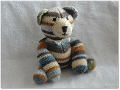 One-of-a-Kind Knit Bear.