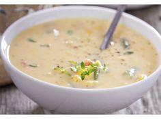 Käse Lauch Suppe vegetarisch