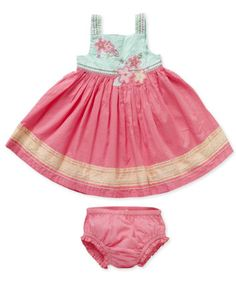 Mothercare Colourblock Dress With Knickers