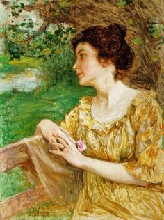 SUMMERTIME, by Edward Henry Potthast