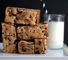 mmm, cookie bars/