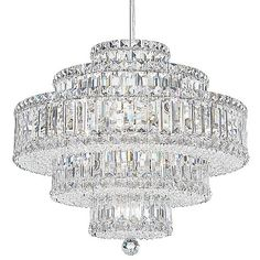 Click Image Above To Purchase: Plaza Suspension By Schonbek All Things Crystal, Schonbek Lighting, Interior Window Shutters, Rustic Lighting, Formal Living Rooms, Living Room Lighting, Light Decorations, Lanterns, Swarovski Crystals
