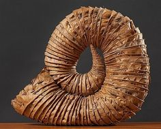 Leaf Horn by Andy Goldsworthy                                                                                                                                                                                 More