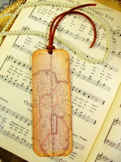 Map Bookmarks Set of 3 Old World Map Antiqued Map Bookmark Map Lovers' Gift Teachers Professors Historians on Etsy, $12.00