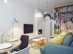 Small living, great ideas http://povesteacasei.ro/