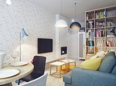 Small living, great ideas http://povesteacasei.ro/