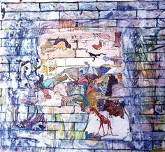 Claudio Spanti - Jardin des Plantes - Acrylique sur toile - cm 73x81 - 2011