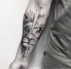 Our Website is the greatest collection of tattoos designs and artists. Find Inspirations for your next Lion Tattoo. Search for more Tattoos. Wolf Tattoos, Hand Tattoos, Lion Forearm Tattoos, Forarm Tattoos, Forearm Tattoo Design, Body Art Tattoos, Sleeve Tattoos, Tatoos, Shape Tattoo