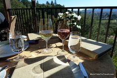 12 Things you MUST see and do in the Napa Valley: Dine on the terrace of Auberge du Soleil