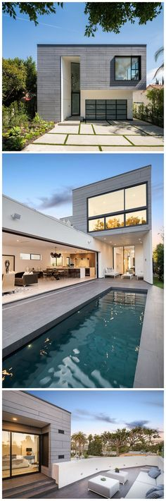 AUX arch. - West Hollywood villa. EQUITONE facade panels. equitone.com