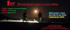Bicijangueo Bajo la Luna Llena #sondeaquipr #bicijangueobajolunallena #colmadolasorpresa #elviandon #caborojo #combate