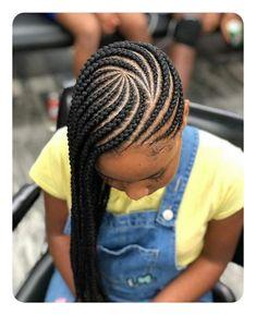 Little Boy Braids Hairstyles 2018 - The Best Style In 2018 - Entertainment Lemonade Braids Hairstyles, Braided Ponytail Hairstyles, Braided Hairstyles For Black Women, My Hairstyle, Black Little Girl Hairstyles, Mohawk Braid, Black Girl Braids, Girls Braids, Natural Hair Styles
