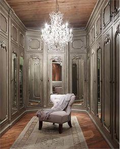 Elegant Closet/Dressing area.